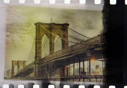 Photoshop制作怀旧老胶卷效果照片的教程