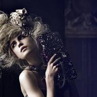 时尚高清欧美女生微信头像 另类女生头像图片